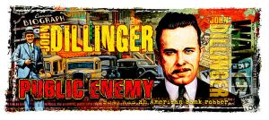 GANGSTER John Dillinger by kingsley-wallis
