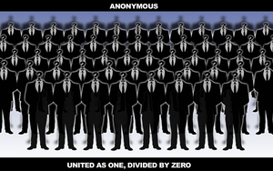 wallpaper Support to Anonymous by XyZeR