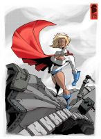 Power Girl by nelsondaniel