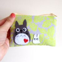 My Neighbor Totoro pouch by yael360