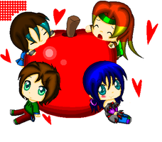 +UB+ ::Giant Apple:: by Karyogui