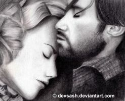 Nicole Kidman and Hugh Jackman by devsash