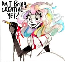 Am I being creative YET!? by PRISM0LLY