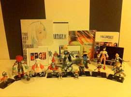 Final Fantasy IX merchandising collection by Nao-Chan-91