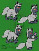 Chase the poochyena by MTSky