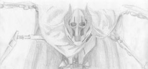 General Grievous pencil by Thothslibrary