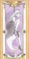 The Yin, my clow card by TheDarknessWolf