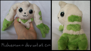 Mini Terriermon Plush by PlushieMania