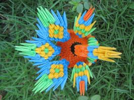 Colorful Peacock 1 by iDoux