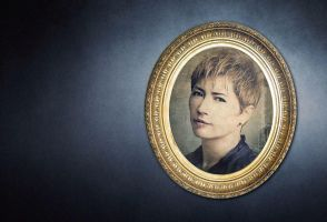 GACKT - Portrait in the frame by Kot1ka
