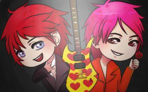 Matt and Hide by TosioRec