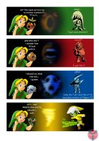 "Link and... ""THE mask"" by Y-Mangaka"