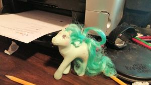Old My Little Pony Doll by BigMac1212