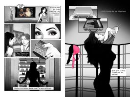 My First Comic Pages - 2 + 3 by chrismickens