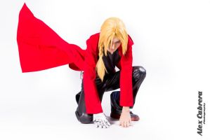 Edward Elric Cosplay by Magic-Alex-Photo