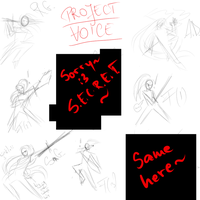 PROJECT: Voice - Lindy skill cut-in sketches by phoenixn91