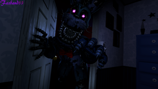 (SFM/FNAF 4) Coming at your door [Remake] by Fazband83