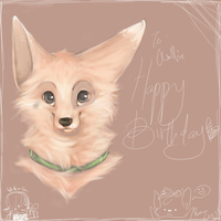B'day gift for WolfieJan by ShikuroNEKU