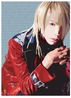 Dir en Grey - Shinya by riku-dovienya