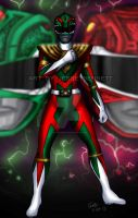 Green Ranger and Red Ranger powers combine! by blueliberty