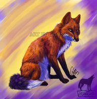 Fox of Color by InstantCoyote