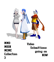 MMD Moon Meme collection 3 by MoonwolfYouthOtaku