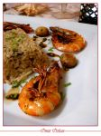 Risotto Mushroom with Shrimp by apsuvaman