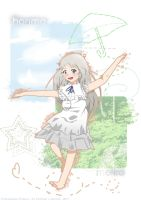 Anohana - That Flower by isacchi