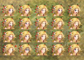 Legend of Mana: Heroine Expressions by Mgx0
