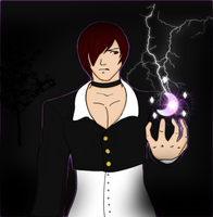 Iori yagami color by LillyGamer