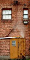 dirty wall w steam by JensStockCollection