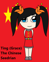 Ting The Chinese Seedrian by QueenSilvia95