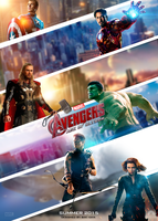 The Avengers: Age of Ultron Poster by krallbaki