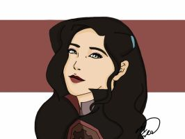 Realistic-ish Asami by VictorySoup
