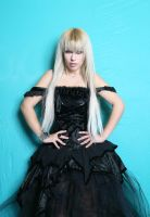 Girl in Gothic  Dress XIII by tanit-isis-stock