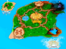 Map of the Island Kingdom of Harmony by Courageous-of-Light
