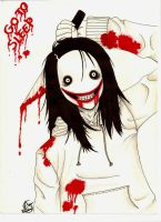 Jeff the killer by YamiGranzchesta
