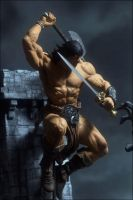 McFarlane Toys Rough Conan by dankatcher