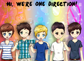 Hi, We're One Direction! by Rin-luver