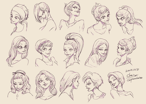Expression Design of Daisy by chacckco