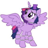 Five Nights At Twilights Twilight Sparkle by magictimeymare12