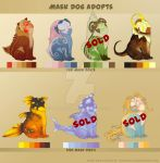 Mask Dog Adopts 1# (5/7) -OPEN- by TaimaTala