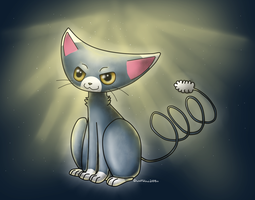 Glameow by WolfGlow