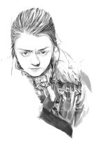 Arya Stark by T-F-Supertramp