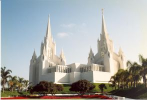 Californian Mormon Temple by SwordOfScotland