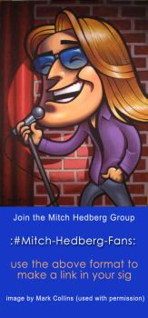 Join Our Mitch Hedberg Group by Dead-Genre-Revival