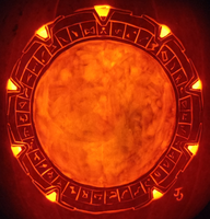 The Stargate Pumpkin by johwee
