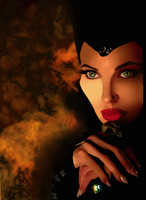Maleficent by LahArt97