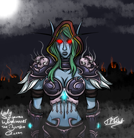 Lady Sylvanas Windrunner, The Banshee Queen by TheFinalIllusion