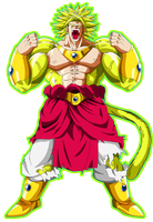 Legendary Super Saiyan 4 Broly by EliteSaiyanWarrior